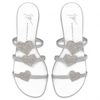 ANYA LOVE - Silver - Sandals
