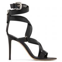 LARISSA - Black - Sandals