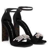SABINE - Black - Sandals