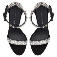 NEYLA CRYSTAL - Black - Sandals