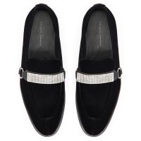 ANGELES SPARKLE - Black - Loafers