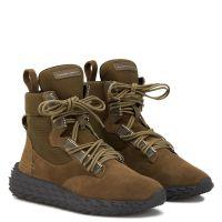 URCHIN - Green - High top sneakers