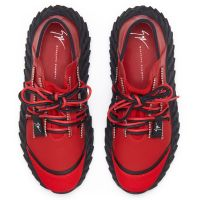 URCHIN - Red - Low top sneakers