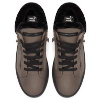 JUSTY WINTER - Grey - Mid top sneakers