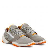 SUEDE JUMP - Grey - Low top sneakers