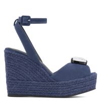 AINA - Blue - Wedges