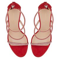 HARMONY STRASS - Red - Sandals
