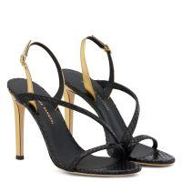 POLINA - Black - Sandals