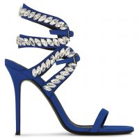 CLAUDIA - Blue - Sandals