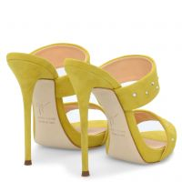 ANDREA CRYSTAL - Yellow - Sandals