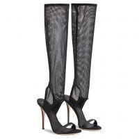 AGNES HIGH - Black - Boots