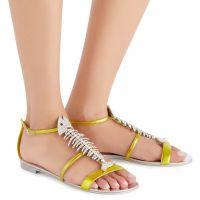 SLIM - Jaune - Sandales