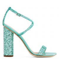 TARA GLITTER - Green - Sandals