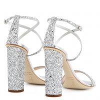 TARA GLITTER - Silver - Sandals