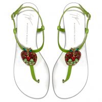 BERRY - Green - Sandals
