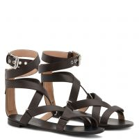 LYDA - Brown - Flats