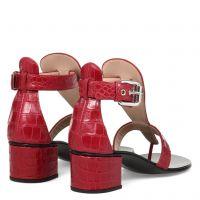 MADIE - Red - Sandals