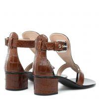 MADIE - Brown - Sandals