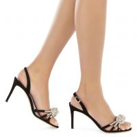 BLOSSOM - BLack - Sandals