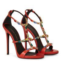 ELBA - Red - Sandals