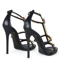 ELBA - Bleu - Sandales