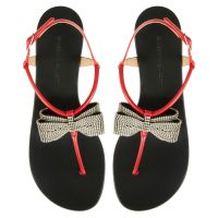 JANELLE - Red - Flats