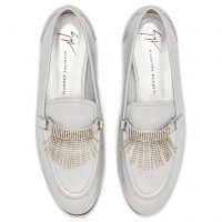 JODIE - Silver - Loafers