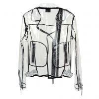 AMELIA INVISIBLE - White - Jackets