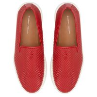 CLEM - Red - Slip ons