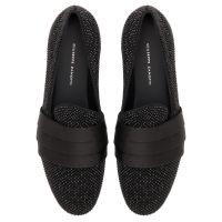 PATRICK SPARKLE - Black - Loafers