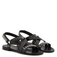 LIAM STUDS - Black - Sandals