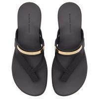 WAYNE - Black - Sandals