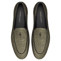 G-FLASH - Grey and gold - Loafers