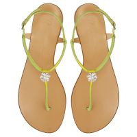 HOLLIE CRYSTAL - Yellow - Flats