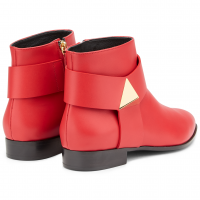 EMILY - Red - Boots