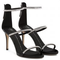HARMONY SPARKLE 90 - Black - Sandals