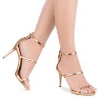 HARMONY 90 - Gold - Sandals