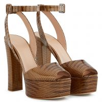 BETTY - Brown - Sandals