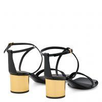 TARA - Noir - Sandales
