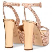Betty Glitter - Beige - Sandals