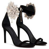 FLEUR - Black - Sandals