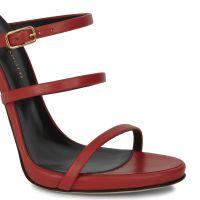 MARGARET - Red - Sandals