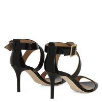 ELLIE - Black - Sandals