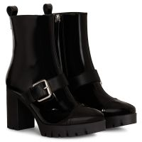 ZANDRA BUCKLE - Black - Boots