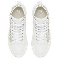 BLABBER - Blanc - Sneakers montante