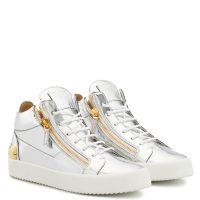 KRISS - Argent - Sneakers montante