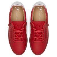 FRANKIE - Rosso - Sneaker basse