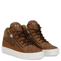 CLAY - Brown - Mid top sneakers