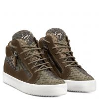 CLAY - Multicolor - Mid top sneakers