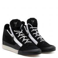 JESS - Black - Mid top sneakers